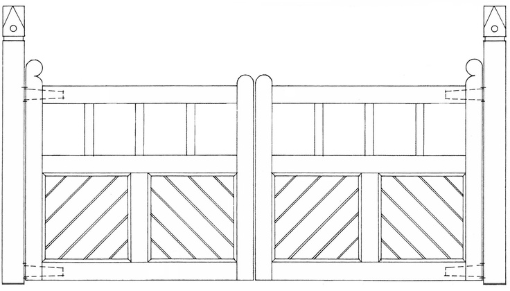 Matthews Fences and Gates - Suggested Designs