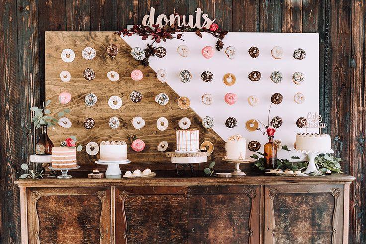 9 Ideen für eure Donut Wall und Hochzeit mit Donuts