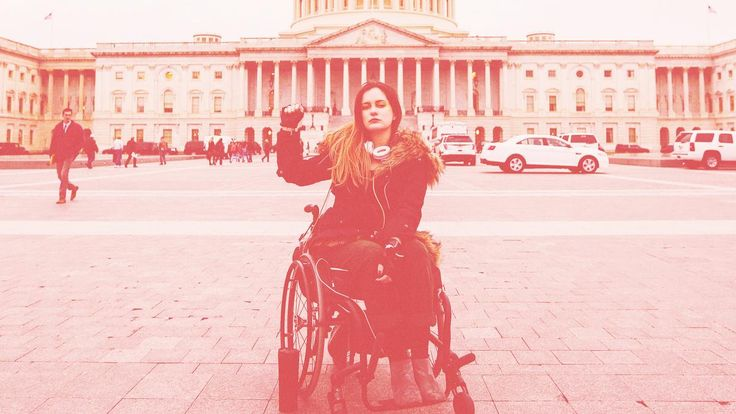 The Disability Advocate Risking Her Life to Save Health Care Kati McFarland has traveled the country—facing arrest and detention multiple times—to confront Congress members seeking to repeal the Affordable Care Act.