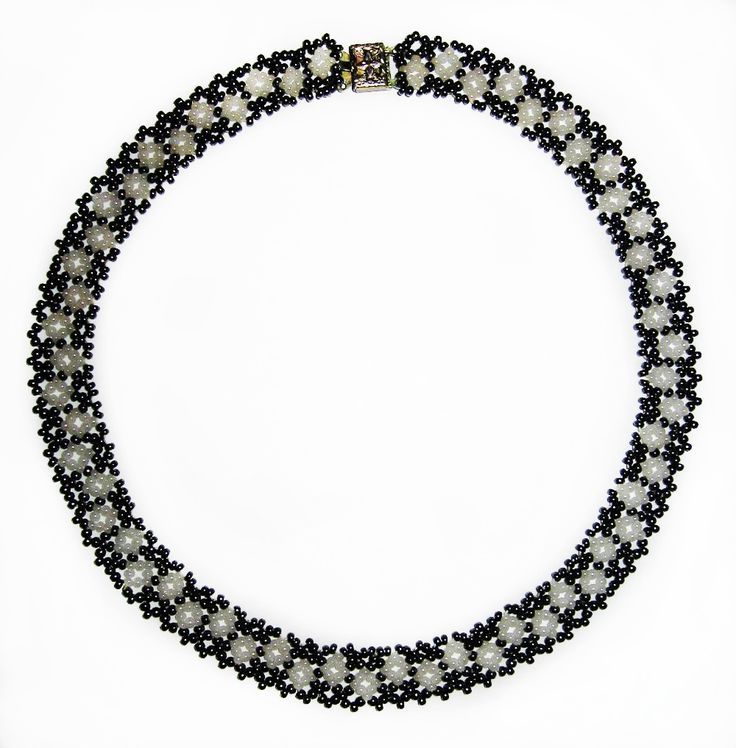Free pattern for necklace Manuela   Beads Magic