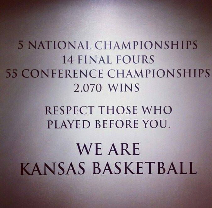 We ARE Kansas Basketball