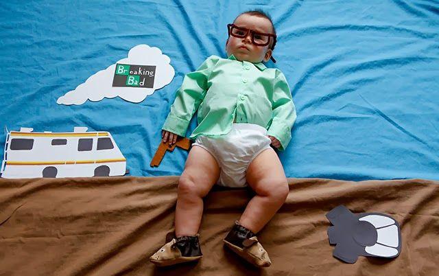 Ensaio com uma bebê encenando séries famosas | Pipoca com Manteiga!