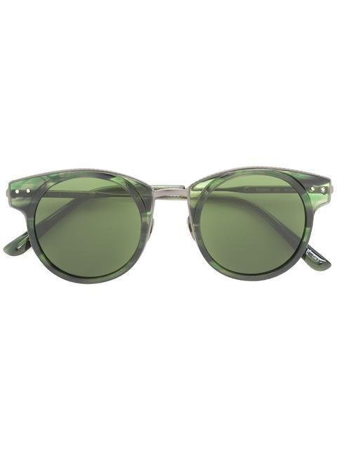 """Bottega Veneta Eyewear солнцезащитные очки с оправой """"кошачий глаз"""""""