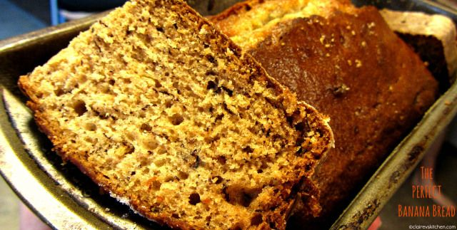 Banana Bread without using butter - tastes amazing!
