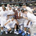 closeThe UK team celebrated with the trophy after defeating Baylor University in the NCAA South Regional final played in the Georgia Dome in Atlanta, Ga., Sunday, March 25, 2012. This is second half action. UK won 82-70. Charles Bertram   Staff HERALD-LEADER  The UK team celebrated with the trophy after defeating Baylor University in the NCAA South Regional final played in the Georgia Dome in Atlanta, Ga., Sunday, March 25, 2012.
