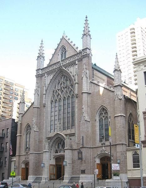 St. Monica's Church on 79th Street between York and 1st Avenues