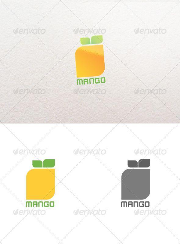 Abstract Mango Logo