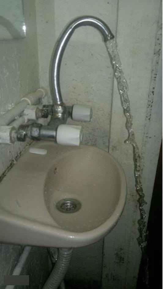 This overenthusiastic sink.