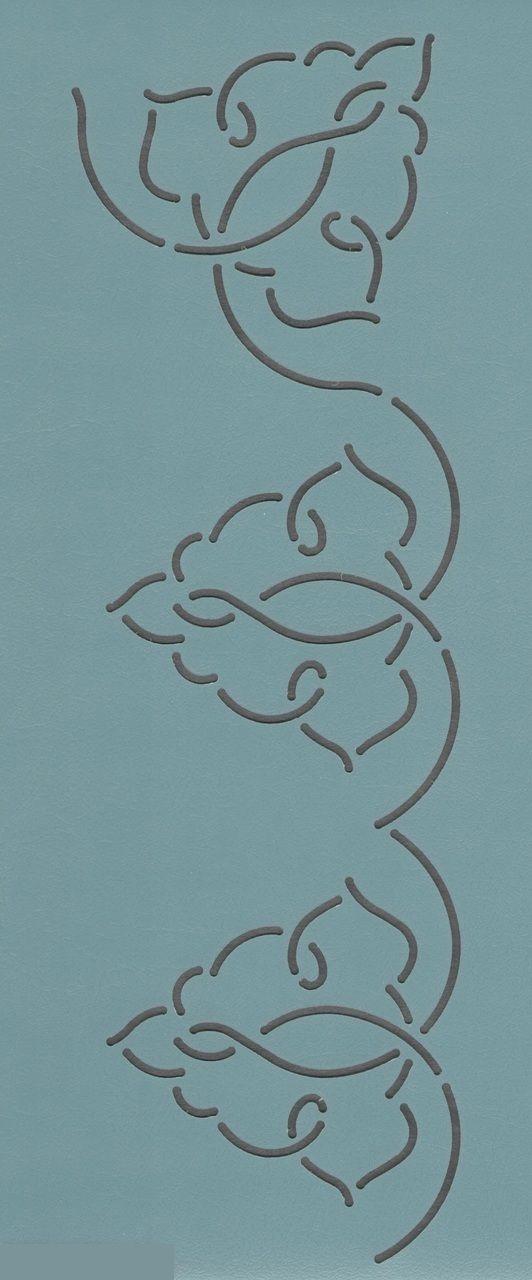 """Arabesque Border 4"""" - The Stencil Company"""