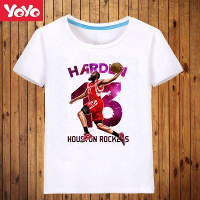 JAMES HARDEN 2017 Summer basketball NBA star cotton short sleeve T-shirt 5711, Wholesale NBA Basketball Jerseys - Buy NBA Swingman Jerseys