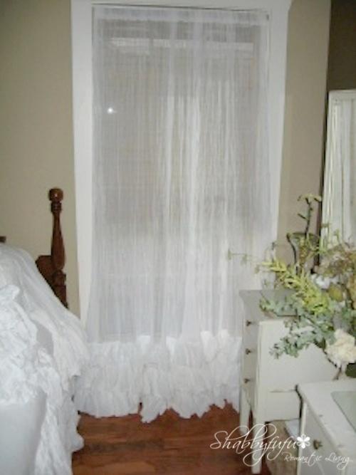 sooo pretty♥: Gauze Ruffles, Triple Ruffles, Beautiful Window, Curtains Panels Etsy, Ruffle Curtains, Bedrooms Ideas, Gauze Beds Curtains, Ruffles Curtains, Gauze Curtains