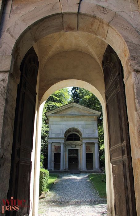 One of the chapels of Sacro Monte di Varallo in Alto Piemonte