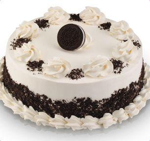 Baskin Robbins Oreo Cream Delight Cookie Cake