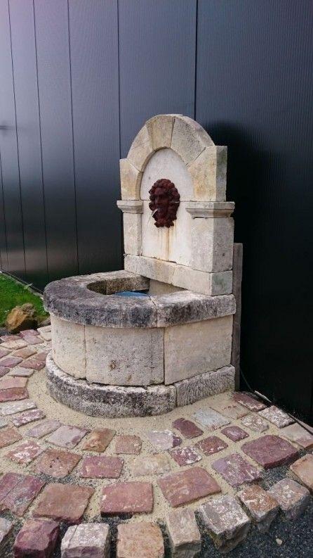 1000 id es sur le th me fontaine murale sur pinterest fontaine murale exterieure fontaine en for Fontaine de jardin en pierre ancienne