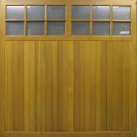Edale Cedar Timber Side hinged Side Hinged Garage Door at Garage Doors Online