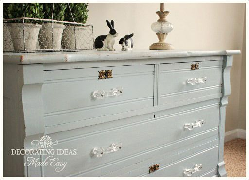 best No Prep Chalk Painted Furniture  on Pinterest