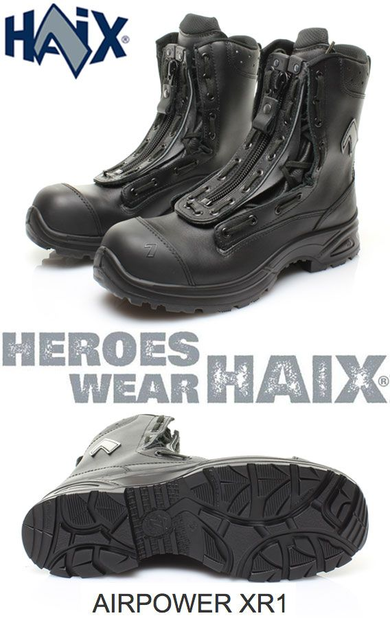The Haix® Airpower XR1 is the ideal choice for rescue and emergency services! €209.89