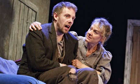 Donal Gallery and Niamh Cusack in Juno and the Paycock ~ one of my all time favourites, brilliant play...