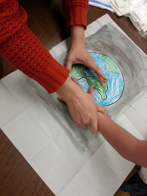 Kindergartens 3 Rs: Respect, Resources and Rants: Weve Got the Whole World: Earth Day Project