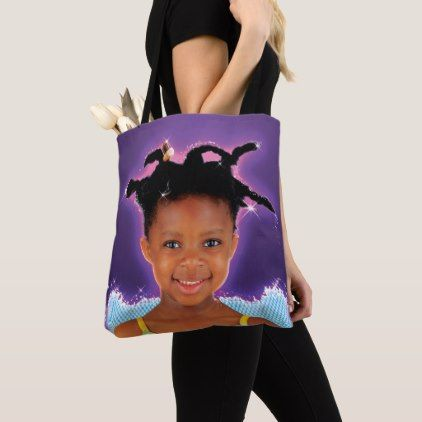 Happy and sad Fairy in the Family  tote bag - black gifts unique cool diy customize personalize