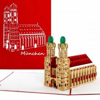 Städtereise verschenken? Gutschein für einen Kurztrip? Unsere Karten eigenen sich auch als Highlight zu einem Geldgeschenk für die nächste Reise #städtetrip #städtereise #ausflug #münchen #munich #frauenkirche