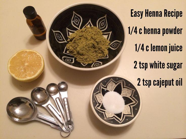 Mehndi Henna Paste Recipe : The best henna recipe ideas on pinterest diy