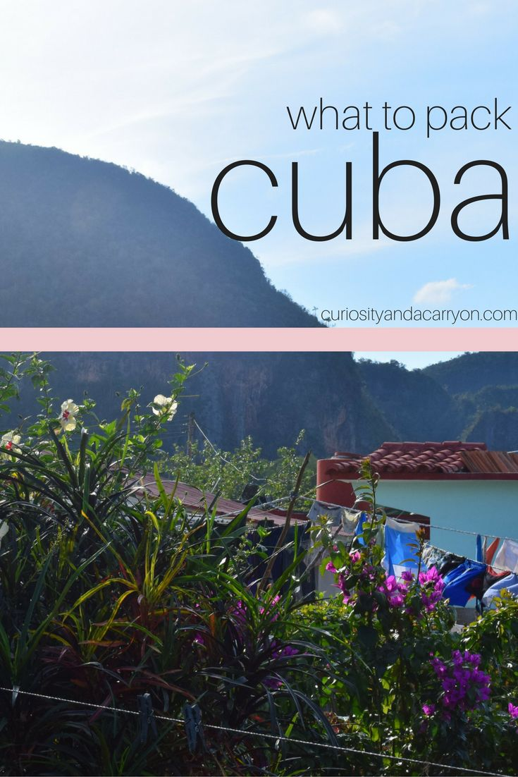 What to Pack for a Trip to Cuba