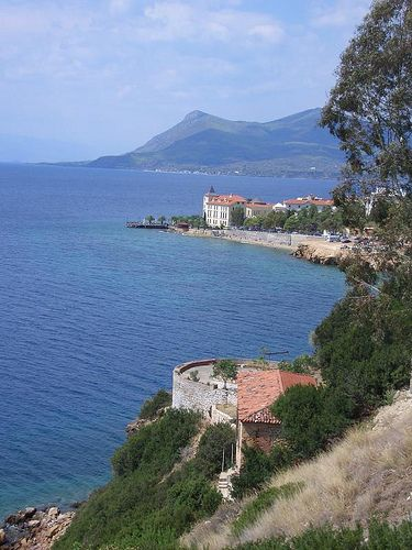 Aidipsos Town, Evia, Greece