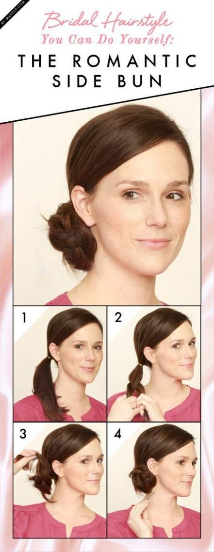 Best Wedding Hairstyles For Bridesmaids Simple Diy Chignons 41+ Ideas