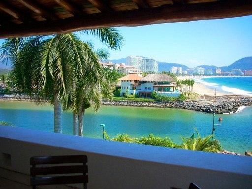 Marina View from the Terrace / Porto Ixtapa, Morros