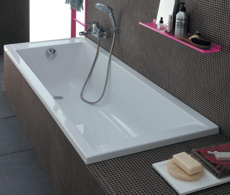 Baignoire en acrylique 170 x 75 cm Prima Style - La salle de bains Cedeo