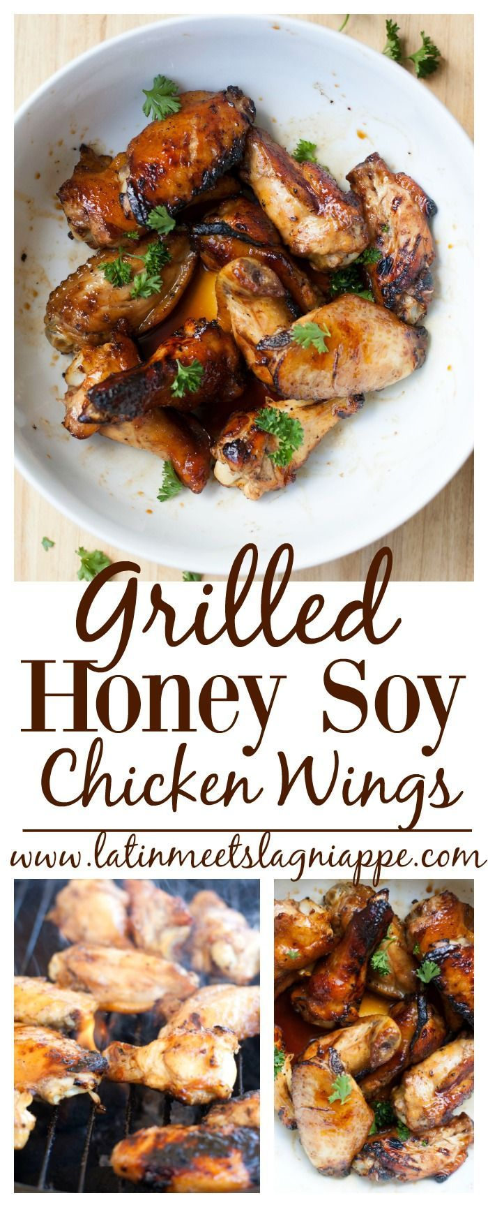 Grilled Honey Soy Chicken Wings