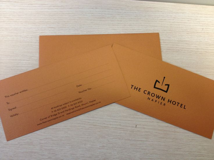 Gift Vouchers available for purchase. http://www.thecrownnapier.co.nz/