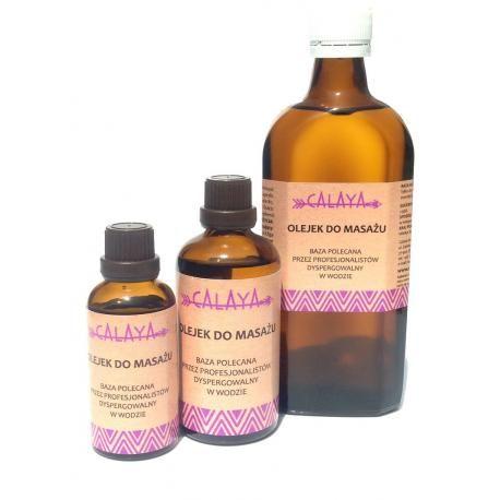 Olejek do masażu - baza polecana przez profesjonalistów dyspergowalny w wodzie