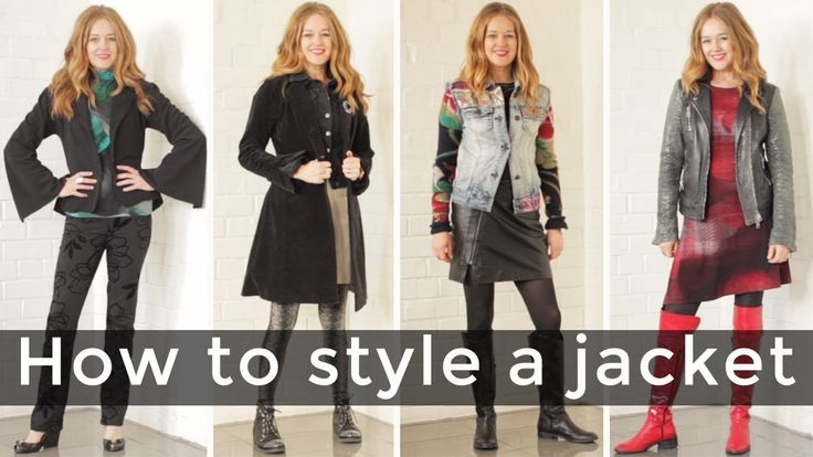 How to style a jacket for women over 40 - over 40 style