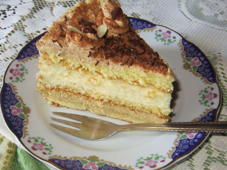 Domowe ciasta i obiady: Tort Mascarpone