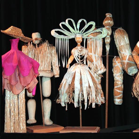 Jan Berdyszak – Puppets for Stanisław Wyspiański's Wesele directed by Leokadia Serafinowicz