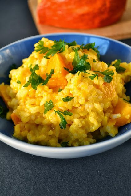 Dyniowe risotto (wegetariańskie)