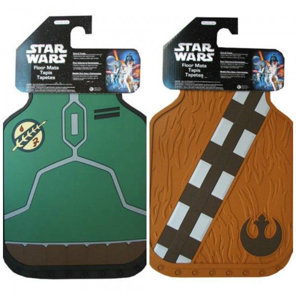 Going in my car immediately! - Take Boba Fett And Chewbacca Along For The Ride