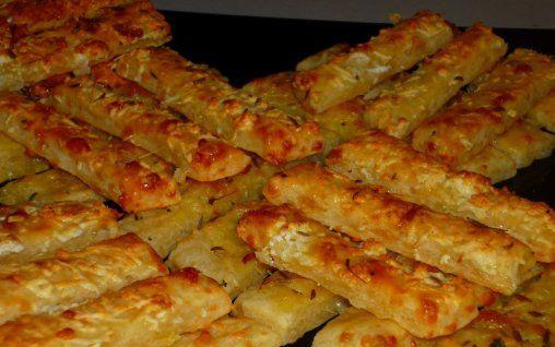 Retete Culinare - Saleuri cu cascaval si chimen