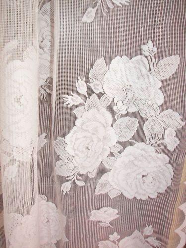 17 Best images about Vintage Lace Curtains on Pinterest | Curtains ...