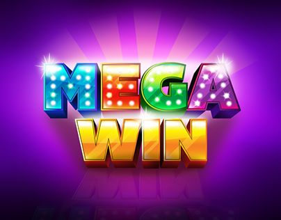 Design and illustration of Bonus, Free Spin, Mega win, Big win texts for slots Casino games