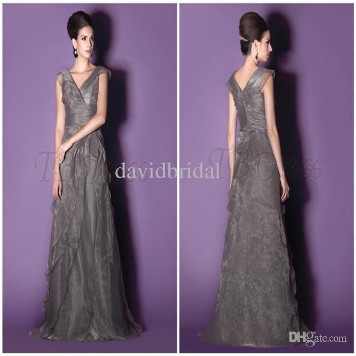 wholesale long empire waist mother bride dresses