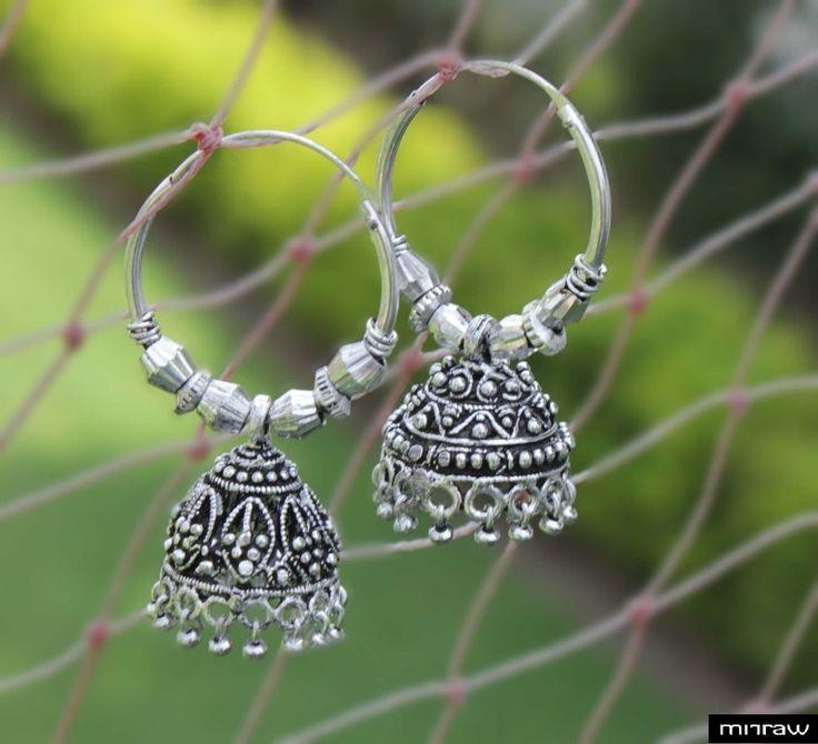Beautiful german silver earrings