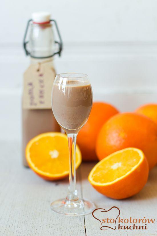 sto kolorów kuchni: Likier czekoladowo - pomarańczowy