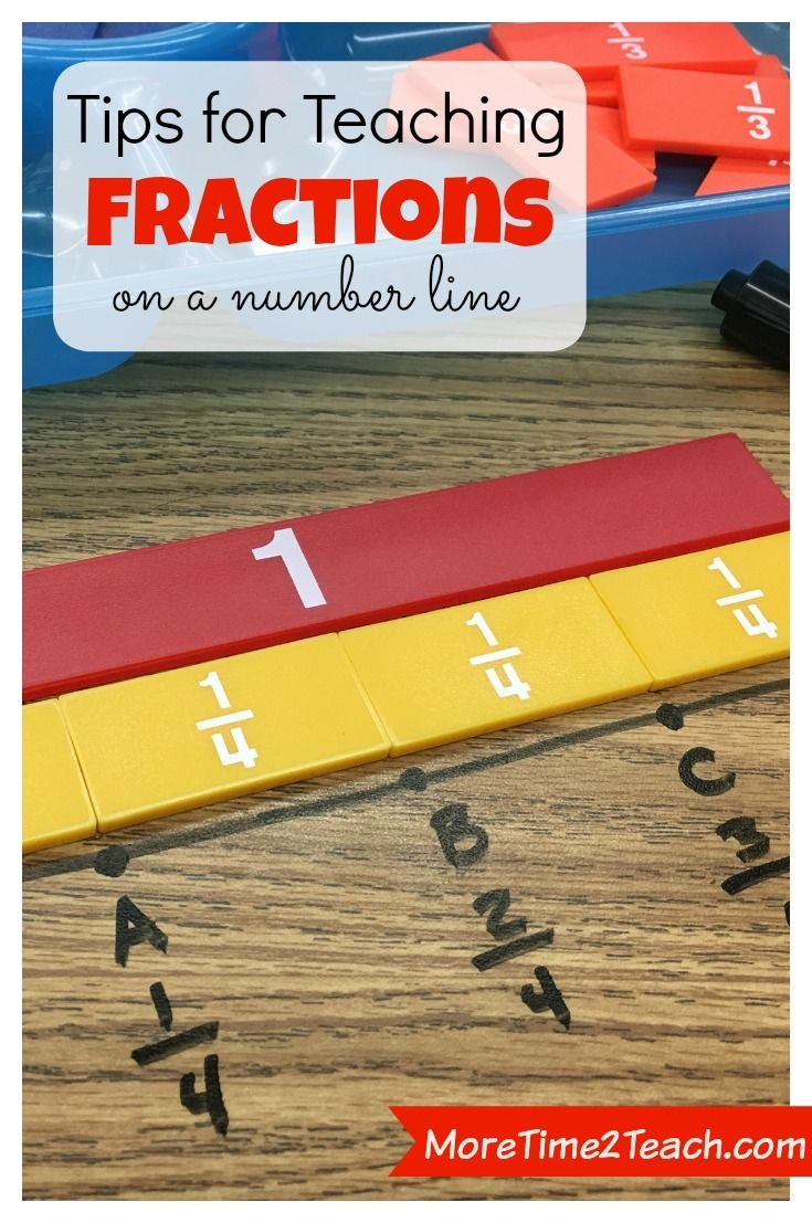 FRACTIONS on a number line can be difficult for students to understand... This post has great tips for helping your students visualize fractions.