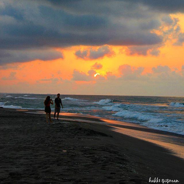 Kocaali / Sakarya  Bir gün batımı karesi…  Fotoğrafı gönderen: Hakkı Şişman