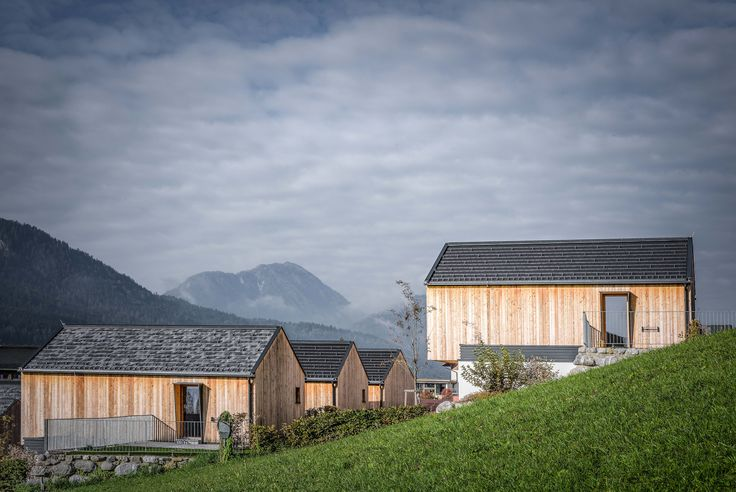 Chalets With Tondach Roof Tiles Figaro Deluxe In