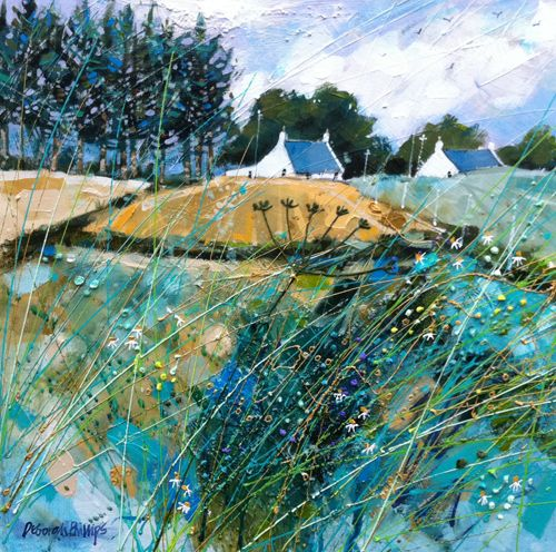 Hill of St.Fink by Deborah Phillips, Contemporary Scottish Artist