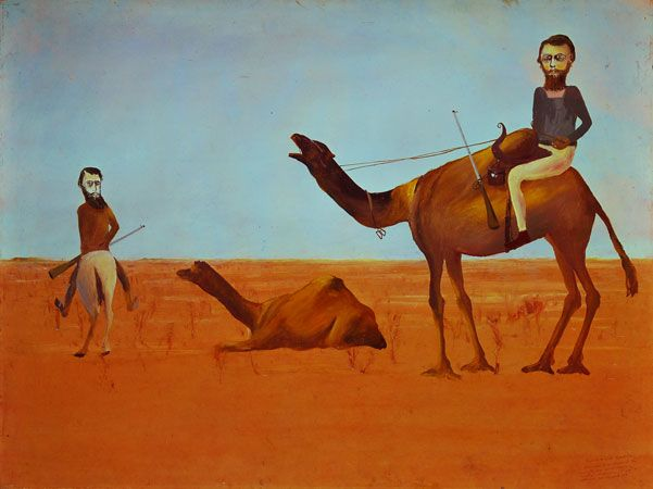 Burke and Wills Expedition - Sidney Nolan